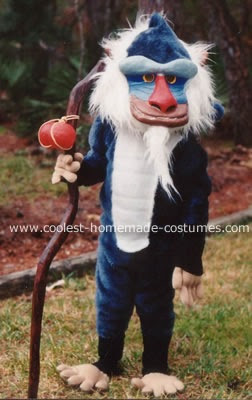 Homemade Rafiki Costume The Baboon From Quot The Lion King